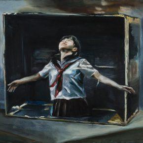 Chen Han, Adolescence, 2015; Oil on canvas, 80x100cm