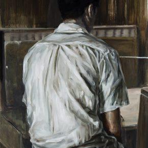 Chen Han, Autism, 2016; Oil on canvas, 150 x 100 cm