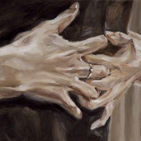 Chen Han, Embrace, 2012; Oil on canvas, 35x60cm
