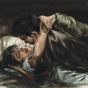 Chen Han, Love, 2016; Watercolor on paper, 19x24cm