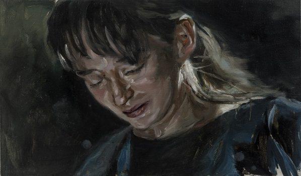 Chen Han, Restraint, 2015; Oil on canvas, 35x60cm