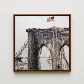 Pei Li, greater NEW YORK_peili_3, 2016; Oil on aluminum panel, 60x60cm