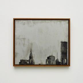 "Pei Li greater NEW YORK peili 4 2016 Oil on aluminum panel 50x60cm 290x290 - Klein Sun Gallery presents  ""Greater New York"" showcasing multimedia works by Pei Li"