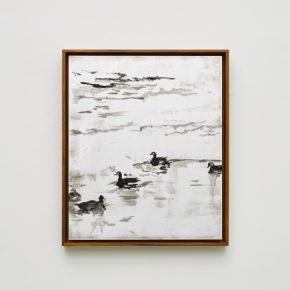 "Pei Li greater NEW YORK peili 5 2016 Oil on aluminum panel 60x50cm 290x290 - Klein Sun Gallery presents  ""Greater New York"" showcasing multimedia works by Pei Li"
