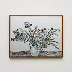 "Pei Li greater NEW YORK peili 6 2016 Oil on aluminum panel 70x90cm 290x290 - Klein Sun Gallery presents  ""Greater New York"" showcasing multimedia works by Pei Li"