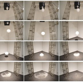 """Peng Xianfeng The Cloud Making Factory 2015 Mixed Media 75x65x58cm 290x290 - Asia Art Center presents the group exhibition """"Inclined Plane"""" featuring five sculptural artists in Beijing"""