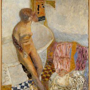 Pierre Bonnard, Nu à la baignoire, 1931; painting, 120x110cm