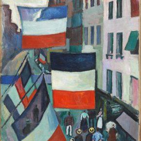 Raoul Dufy, La Rue pavoisée, 1906; Painting, 81x65cm