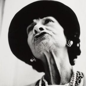 Richard Avedon, Gabrielle Chanel, couturière, Paris, 6 mars 1958, 1958; Photography, 50.6x40.6cm