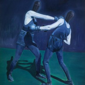 Xu Mo Two Boxers 2015 Oil on canvas 80x70cm 290x290 - Between Art Lab announces Xu Mo's solo exhibition opening June 16