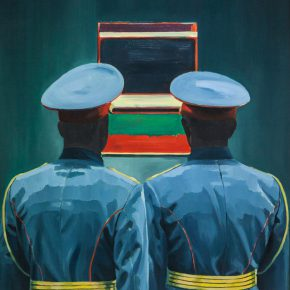 Xu Mo Two Soldiers Looking at the Painting 2015 Oil on canvas 70x80cm 290x290 - Between Art Lab announces Xu Mo's solo exhibition opening June 16