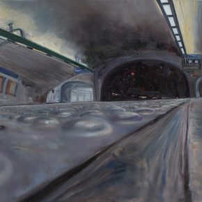 "Zhang Xiaotao Tunnel 2016 Oil on Canvas 200x150cm 290x290 - Pekin Fine Arts presents ""Zhang Xiaotao: The Spring of Huangjueping"" in Beijing"