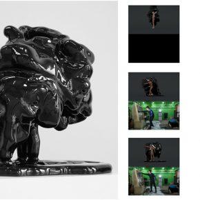 "Zhou Changyong Trattenbach'work 2015 Fiberglass Multimedia video 75x58x80cm 290x290 - Asia Art Center presents the group exhibition ""Inclined Plane"" featuring five sculptural artists in Beijing"