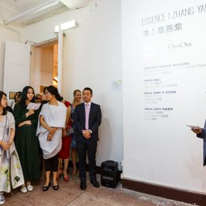 04 Dr Y.L. Yu, Chairman of HKMMS Society spoke at the opening ceremony