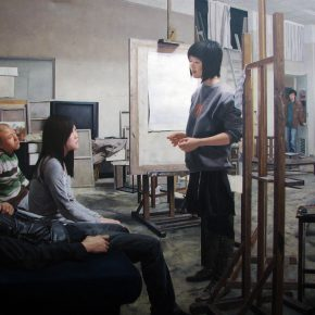 05 Zhang Chao Undergraduate Graduation Creation Our No. 1 Studio 2009 Oil on canvas 200×140cm 290x290 - CAFA Graduation Season丨Case Observation of Oil Painting: Zhang Chao – To Paint a Portrait, That is Profound and Vivid