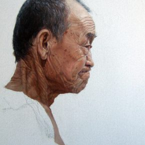06 Zhang Chao Portrait of an Old Man 2010 Oil on canvas 60cmx50cm 290x290 - CAFA Graduation Season丨Case Observation of Oil Painting: Zhang Chao – To Paint a Portrait, That is Profound and Vivid