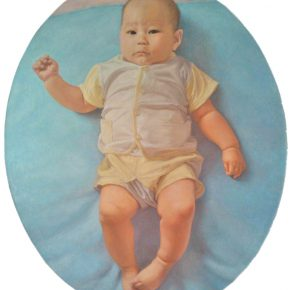 07 Zhang Chao Childhood 2013 Oil on canvas 50cmx60cm 290x290 - CAFA Graduation Season丨Case Observation of Oil Painting: Zhang Chao – To Paint a Portrait, That is Profound and Vivid