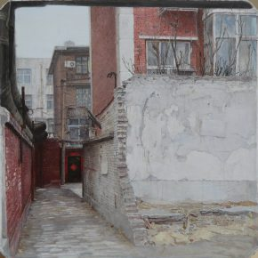 09 Zhang Chao Old Building 2014 Oil on canvas 21cmx21cm 290x290 - CAFA Graduation Season丨Case Observation of Oil Painting: Zhang Chao – To Paint a Portrait, That is Profound and Vivid