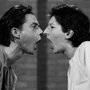 "10 Ulay Marina Abramovic AAA AAA video black and white sound 1257 1978 Courtesy of the Marina Abramovic Archives and LIMA Amsterdam 1 290x290 - Discussion on the Video Art Research in the Context of Globalization: ""Time Test""  is unveiled"