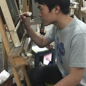 15 Cao Kuo was creating a work