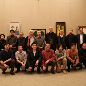 15 Group Photo of Young Artists from China and France Art Exchange Exhibition in 2014 290x290 - CAFA Graduation Season丨Case Observation of Oil Painting: Zhang Chao – To Paint a Portrait, That is Profound and Vivid