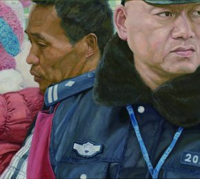 17 Zhang Chao Road to Home detail 02 290x260 - CAFA Graduation Season丨Case Observation of Oil Painting: Zhang Chao – To Paint a Portrait, That is Profound and Vivid