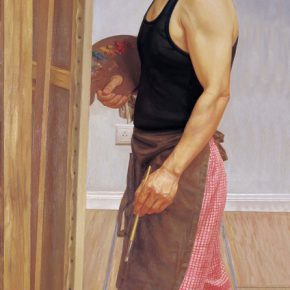 20 Portrait of Hu Jiancheng 290x290 - CAFA Graduation Season丨Case Observation of Oil Painting: Zhang Chao – To Paint a Portrait, That is Profound and Vivid