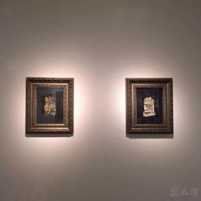 25 Exhibition view of Cao Kuo's graduation creation 290x290 - CAFA Graduation Season丨Chen Jiahao & Cao Kuo – You Draw Realistic Painting While I Write Chinese Calligraphy