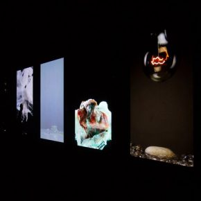 "29 Exhibition view of Time Text – International Video Art Research Exhibition 1 1 290x290 - Discussion on the Video Art Research in the Context of Globalization: ""Time Test""  is unveiled"