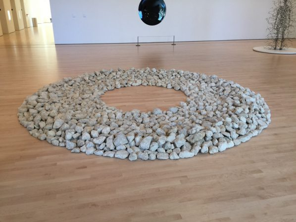 Richard Long, Autumn Circlr, 1990; Stone