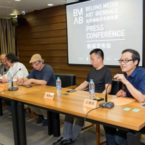 "01 View of the press conference 290x290 - Themed on ""Ethics of Technology"" the ""Beijing Media Art Biennale 2016"" is opening in September"