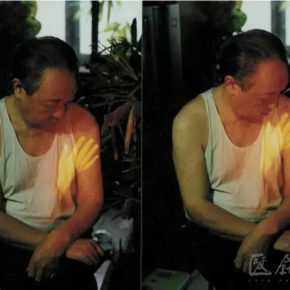 "02 Song Dong Touching Father Trilogy 1997 2011 Performance realized by video 290x290 - CAFA Interview丨Song Dong: Video Art, a Beam of Visible and Intangible ""Light"""