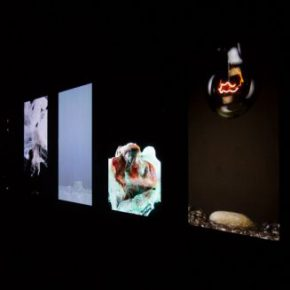 "04 Exhibition View 290x290 - CAFA Interview丨Song Dong: Video Art, a Beam of Visible and Intangible ""Light"""