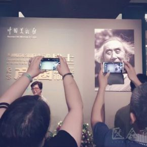 """08 Exhibition view of """"Commemorating the 100th Anniversary of Yan Han's Birth""""photo courtesy of Yan Feng 290x290 - Guang Jun: The Rustic Influence of Yan Han's Art is the Art of That Era, and We Need to Inherit This Spirit"""