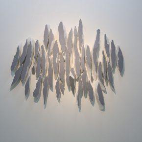 12 Wu Jian'an Strokes. White marble and acrylic paint. 96 x 120 x 8cm. 2016 290x290 - Wu Jian'an
