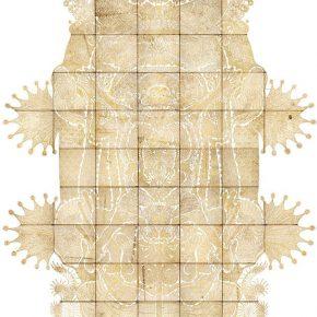 13 Wu Jian'an The Heaven of Nine Levels. Handcrafted Engraving on leather LED lightbox. 540 x 391x 23.3cm. 2008 290x290 - Wu Jian'an