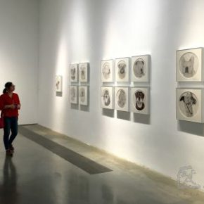 "16 Exhibition view of ""Ink language"" 290x290 - ""Ink Language"" Opened at Triumph Art Space, Presenting the New State of Traditional Ink"