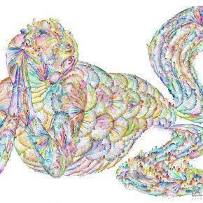 18 Wu Jian'an, The Fish Pattern III. (Design drawing)