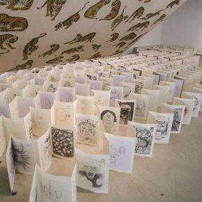 33 Wu Jian'an 1000 Demon Drawings by Qingdao Fine Art Students. Pencil Sketch on paper. Stabled in booklets. Size changeable. 2013 2014. 290x290 - Wu Jian'an