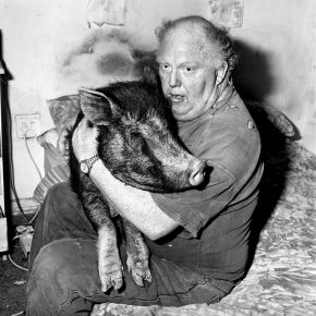9 Brian with Pet Pig, 1998