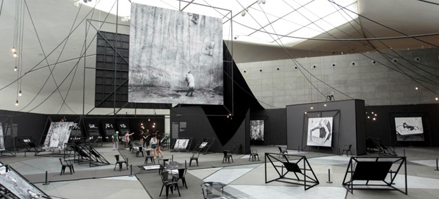 """Photography or Installation? Artist Roger Ballen's """"Theater of the Absurd"""""""