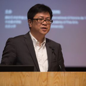 03 Vice President of Peking University Li Yansong 290x290 - Press Conference of Terms – The 34th World Conference of Art History was held in CAFA