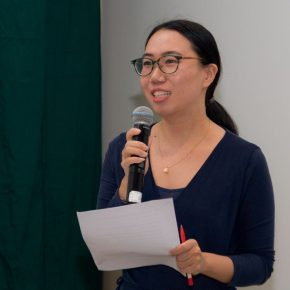 """04 Chief Executive of the Project Space Liu Xiyan delivered a speech  290x290 - """"The Liver"""": What is the Liver of the Artist?"""