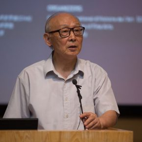 04 Director of Chinese Preparatory Committee at the World Conference of Art History Prof. Shao Dazhen from CAFA 290x290 - Press Conference of Terms – The 34th World Conference of Art History was held in CAFA