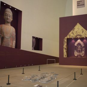 "04 Exhibition view of Special Exhibition for the 34th World Congress on Art 290x290 - CAFA Interview丨Zheng Yan: What is a ""Buddha""? – Interview with the Curator for the Special Exhibition of ""Smash and Reassembled"""