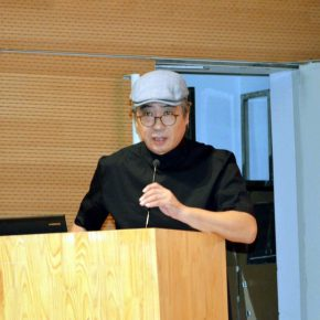 """05 Dean of the School of Design CAFA Song Xiewei delivered a speech 290x290 - """"CAFA Autumn International Art Festival"""": CAFA starts 6 Art Projects"""