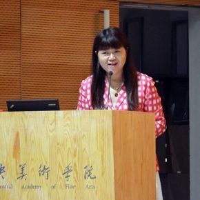"06 Minister of the Propaganda Department CAFA Qin Jianping presided over the press conference 290x290 - ""CAFA Autumn International Art Festival"": CAFA starts 6 Art Projects"