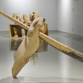 """07 Artist Li Zhan's work  290x290 - """"Decathlon"""" the Exhibition Curated by an Absent Curator Opened at Rightview Art Museum"""