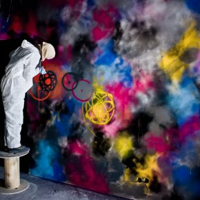12 Artist FUTURA in action 290x290 - Observing Street Art from a Global Perspective: Interview with Magda Danysz and Artists