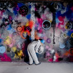 13 Artist FUTURA in action 290x290 - Observing Street Art from a Global Perspective: Interview with Magda Danysz and Artists